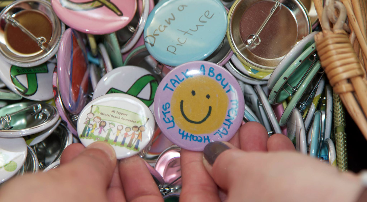 Buttons: Let's talk about mental health